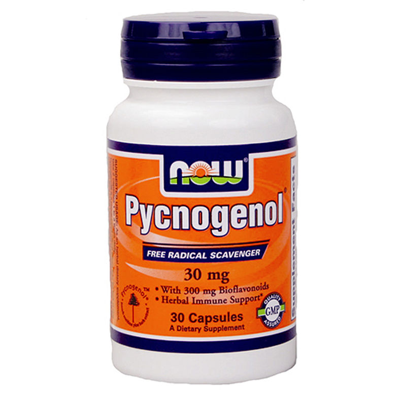 NOW Foods Pycnogenol 30 mg /Пикногенол/