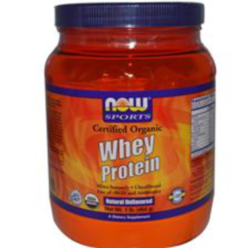 NOW Foods Whey Protein Isolate - неовкусен