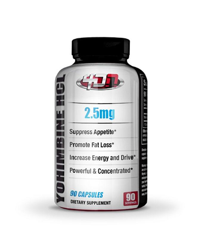 4D Nutrition Yohimbine Hcl 2.5 Mg