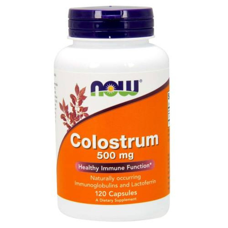 NOW Colostrum 500mg 120caps