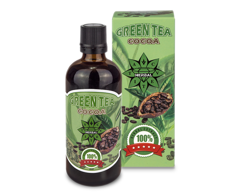 Cvetita Herbal Green Tea With Cocoa 100ml