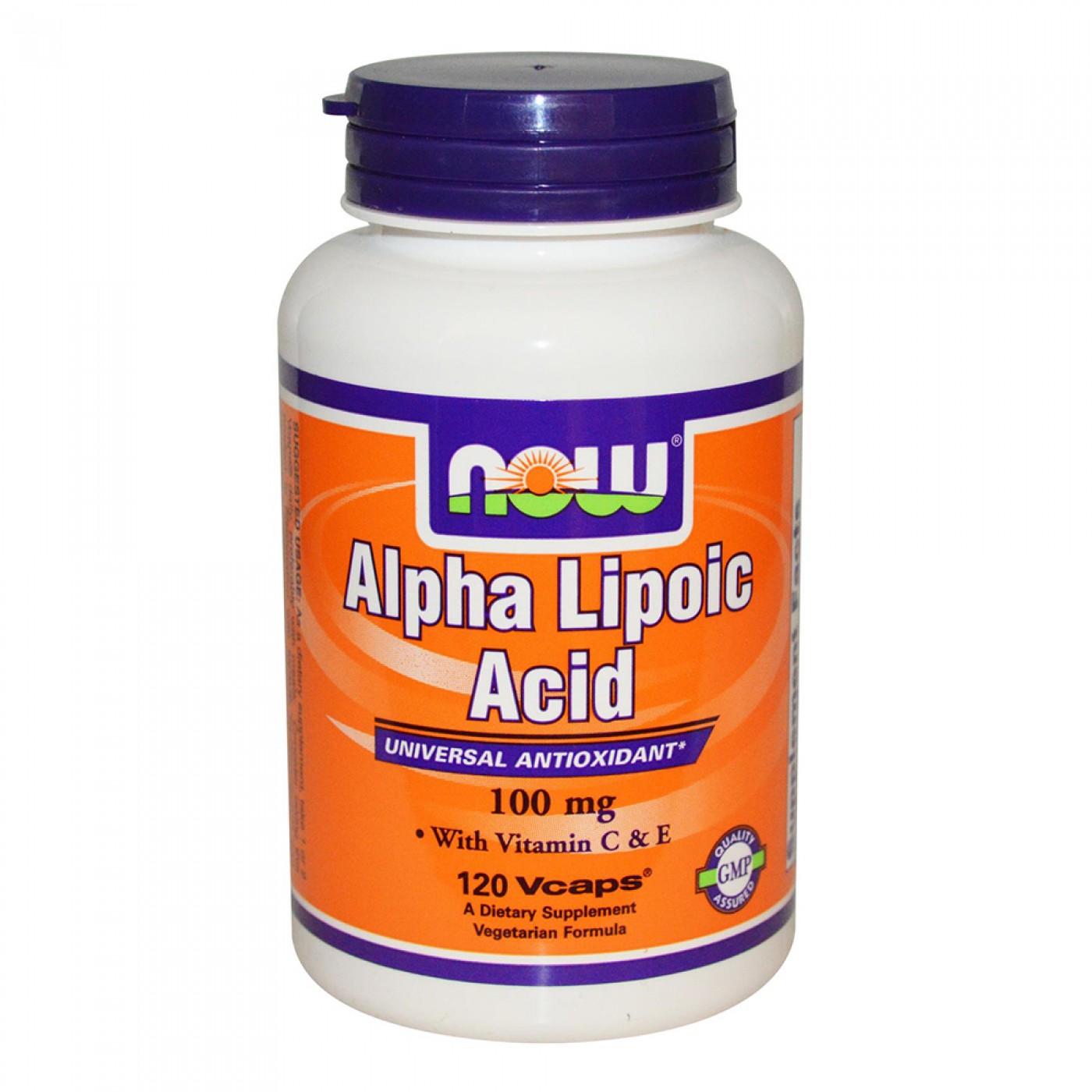 NOW Foods Alpha Lipoic Acid 100 mg