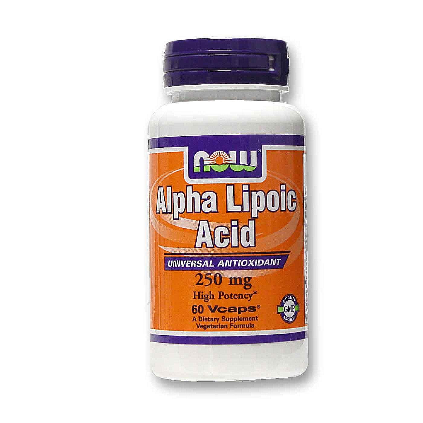 NOW Foods Alpha Lipoic Acid 250 mg