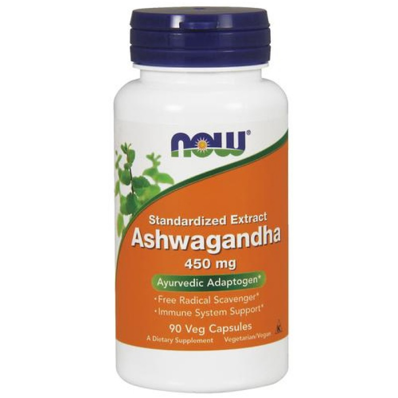 NOW Foods Ashwagandha Extract 450 мг