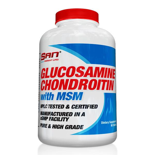 SAN Glucosamine, Chondroitin and MSM