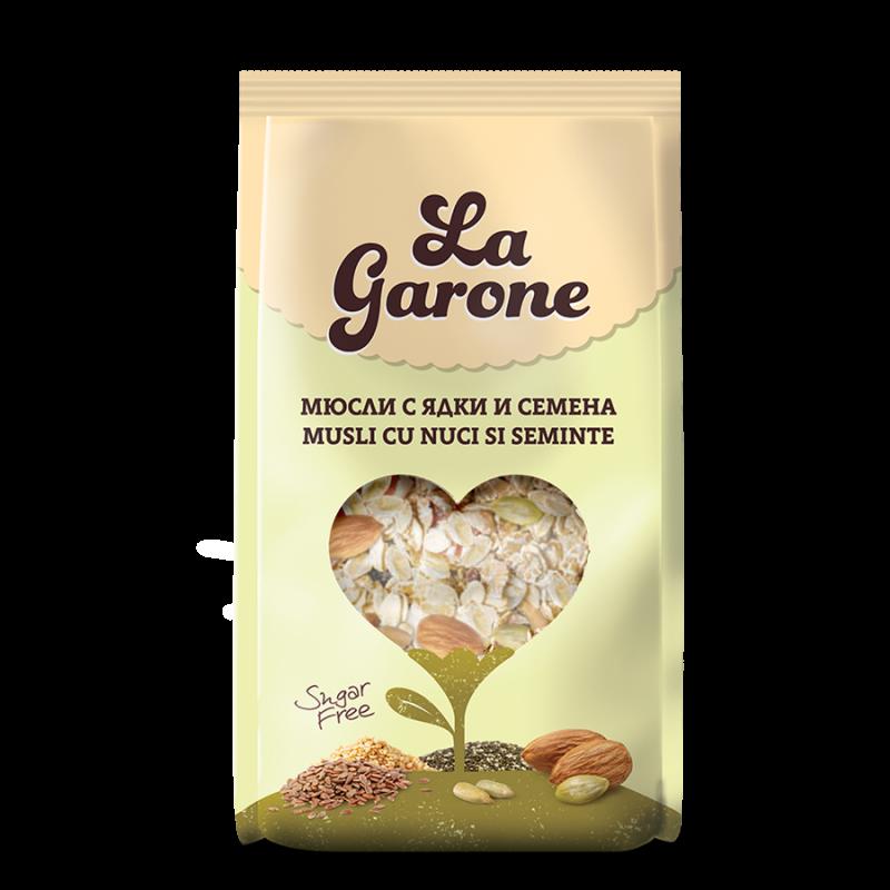 LaGarone Мюсли с ядки и семена