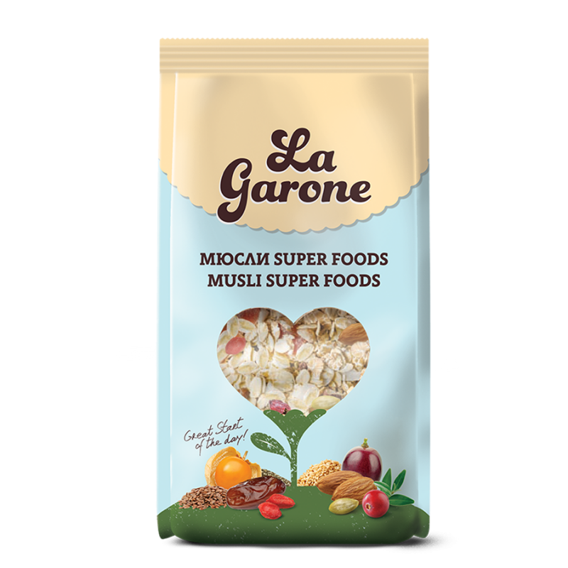 LaGarone Мюсли Super Foods