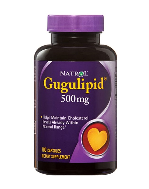 Natrol Gugulipid 500 mg