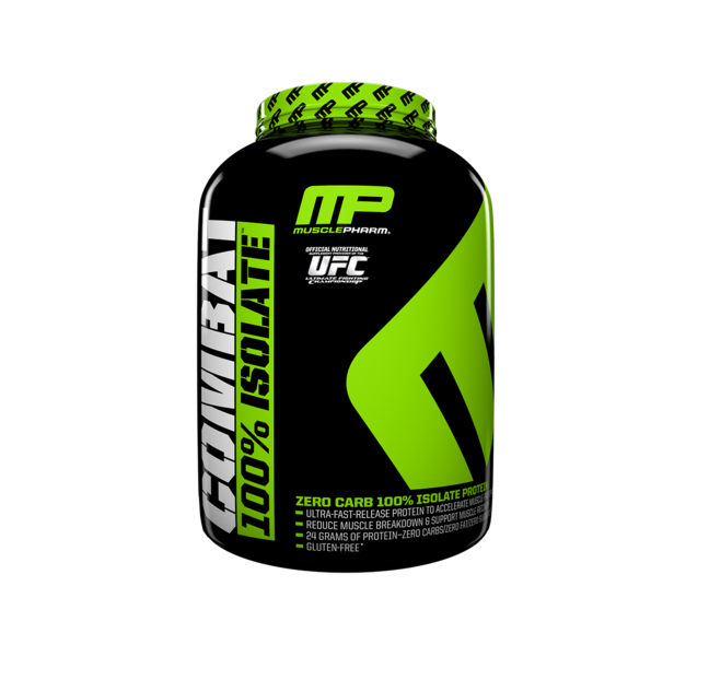 Muscle Pharm Combat 100% Isolate Protein