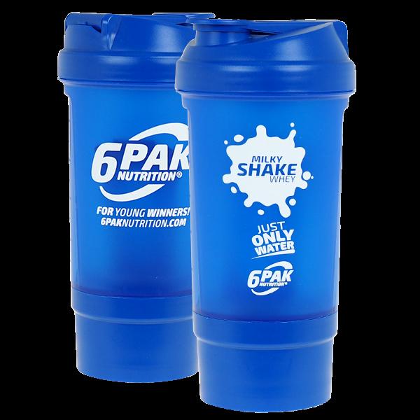 6PAK NUTRITION Shaker Milky Whey + Pillbox (Шейкър)