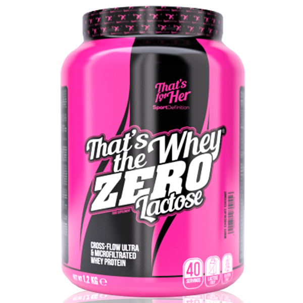 Sport Definition That′s The Whey Zero Lactose