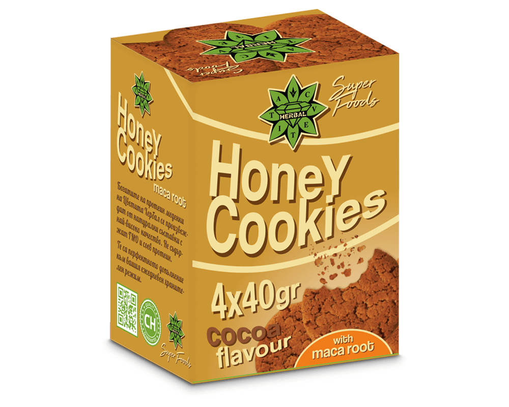Cvetita Herbal Honey Cookies