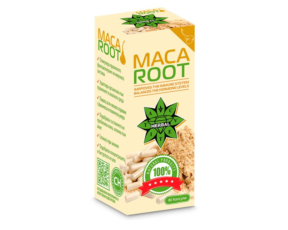 Cvetita Herbal Maca Root 80caps