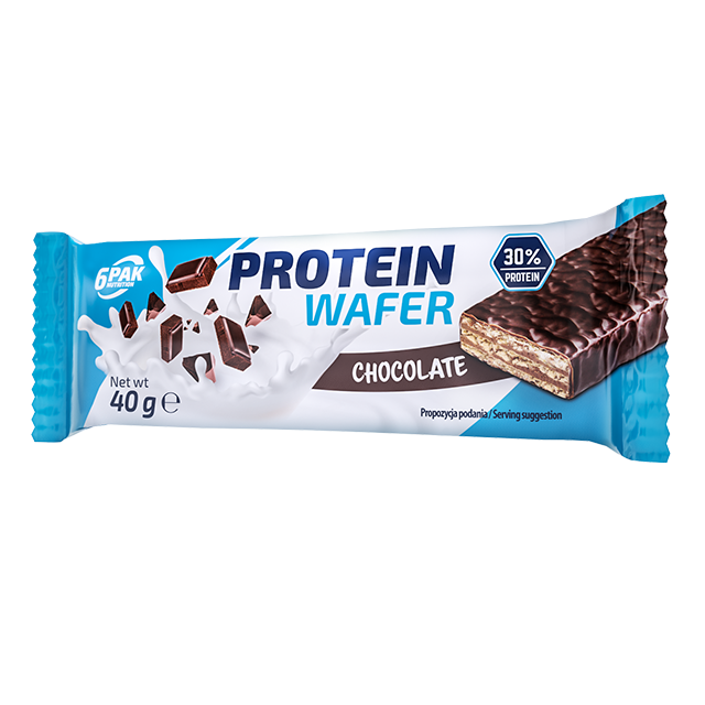 6PAK NUTRITION Protein Wafer 40g
