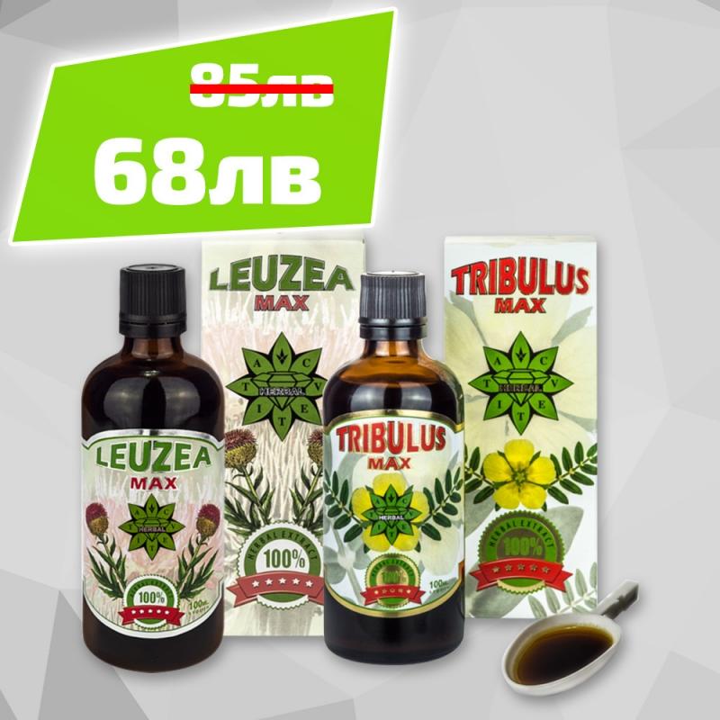 Cvetita Herbal Tribulus Max + Leuzeа Max