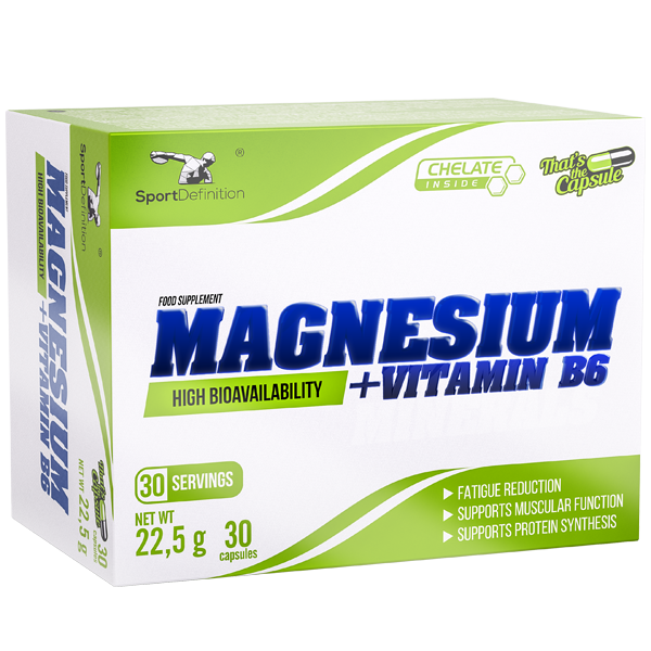 Sport Definition Magnesium + Vitamin B6