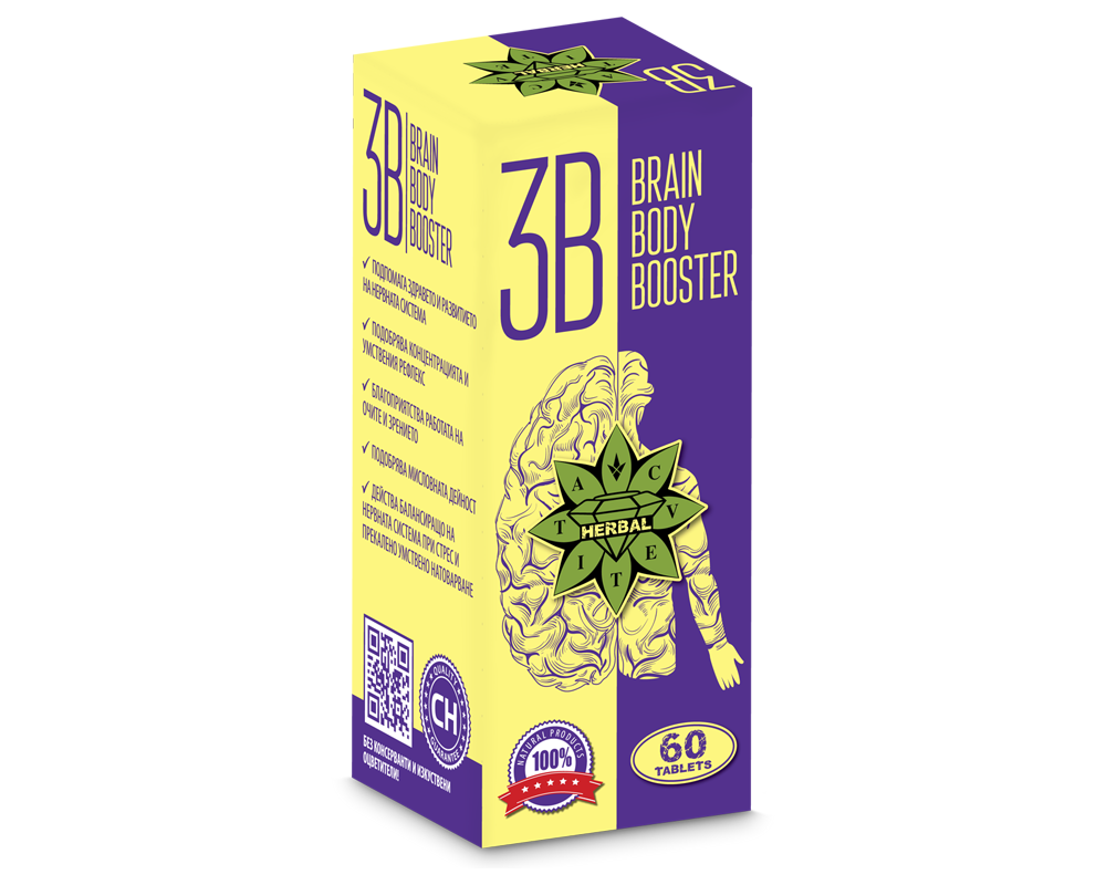 Brain Body Booster 60tabs