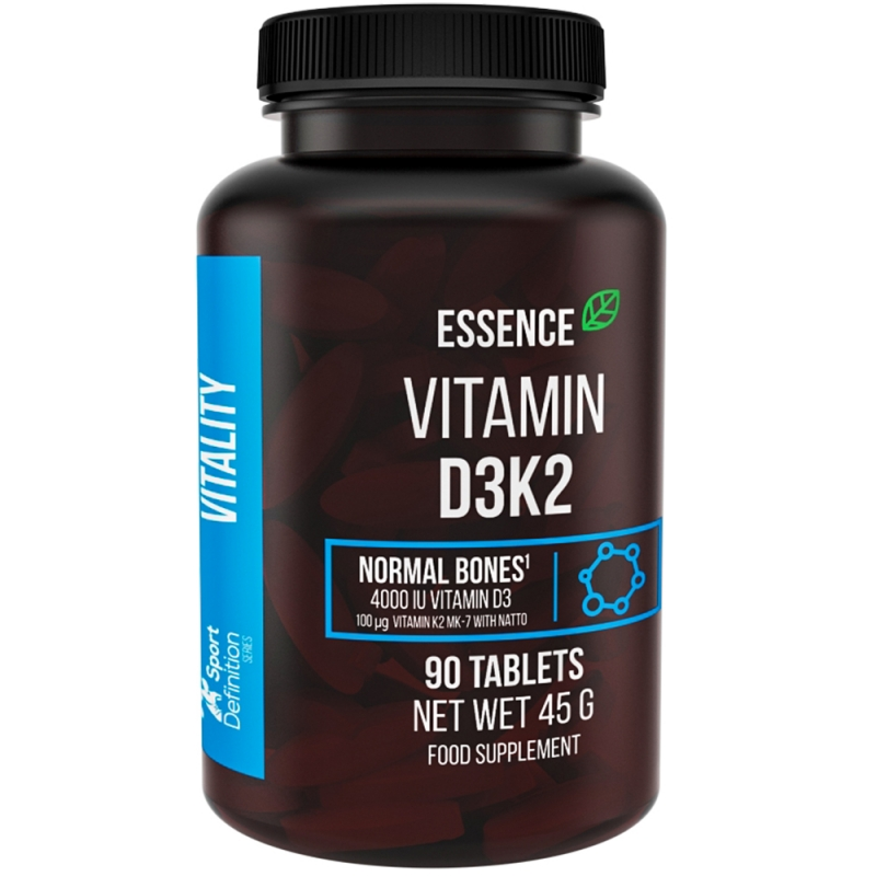 Essence Nutrition D3k2 90tabs (Витамин Д и витамин К)