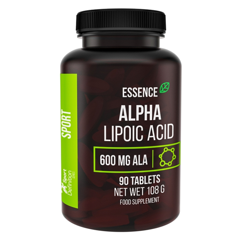 Essence Nutrition Alpha Lipoic Acid Ala 90tabs