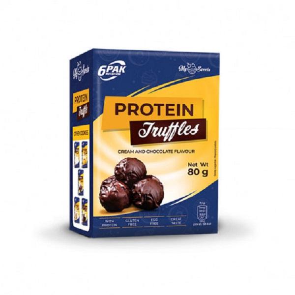 6PAK NUTRITION My Sweets Protein Truffles Dark 80g