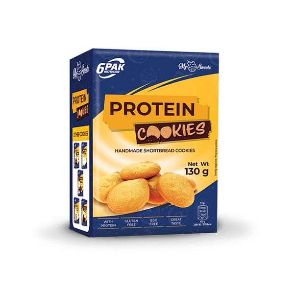 6PAK NUTRITION My Sweets Protein Cookies 130g