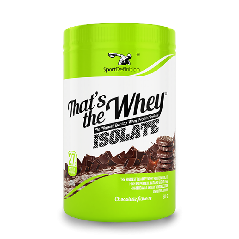 Sport Definition That′s The Whey Isolate