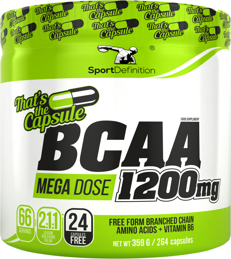 Sport Definition Bcaa 1200mg That′s The Capsule