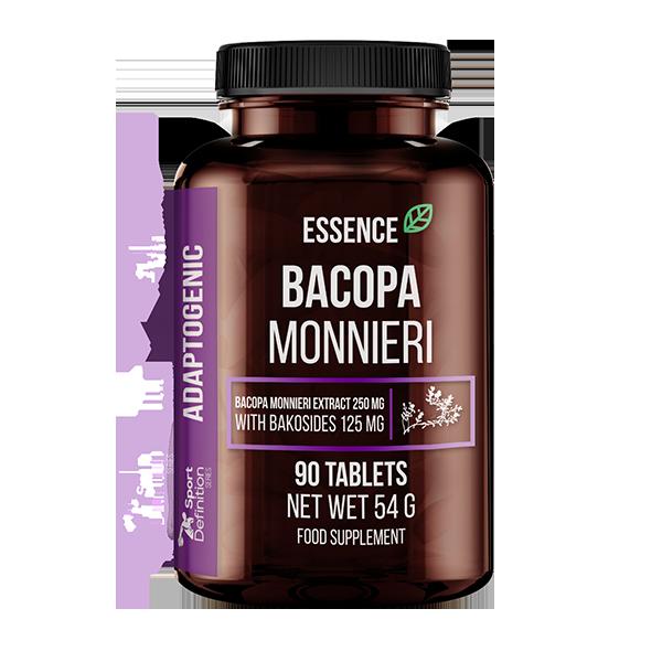 Essence Nutrition Bacopa Monnieri 90tabs (Бакопа мониери/Подобрява паметта)