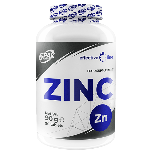 6PAK NUTRITION Effective Line Zinc 90tabs (Цинк)