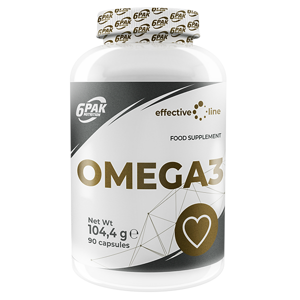 6PAK NUTRITION Effective Line Omega 3 90caps (Омега 3)