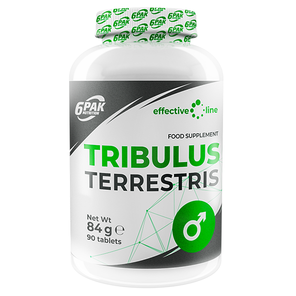 6PAK NUTRITION Effective Line Tribulus Terrestris 90tabs