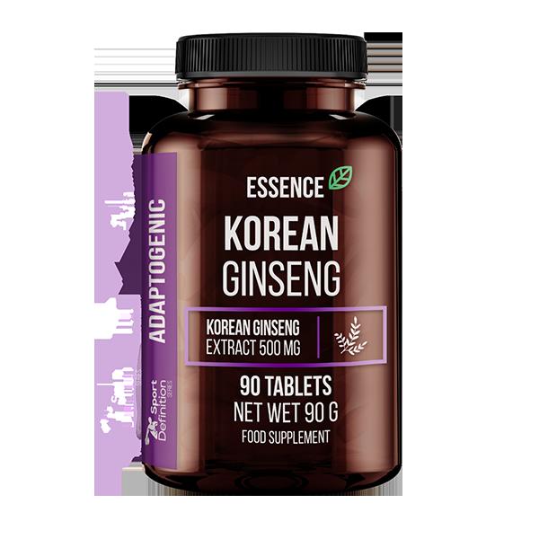 Essence Nutrition Korean Ginseng 90tabs (Корейски женшен/Подсилване на имунитета)