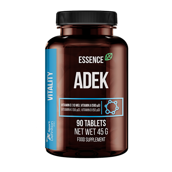 Essence Nutrition Adek 90tabs (Витамин А, витамин Д, витамин Е и витамин К)