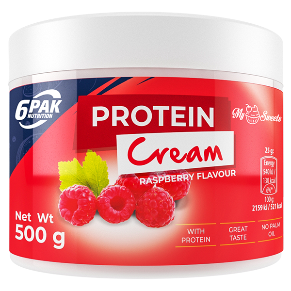 6PAK NUTRITION My Sweets Protein Cream Raspberry
