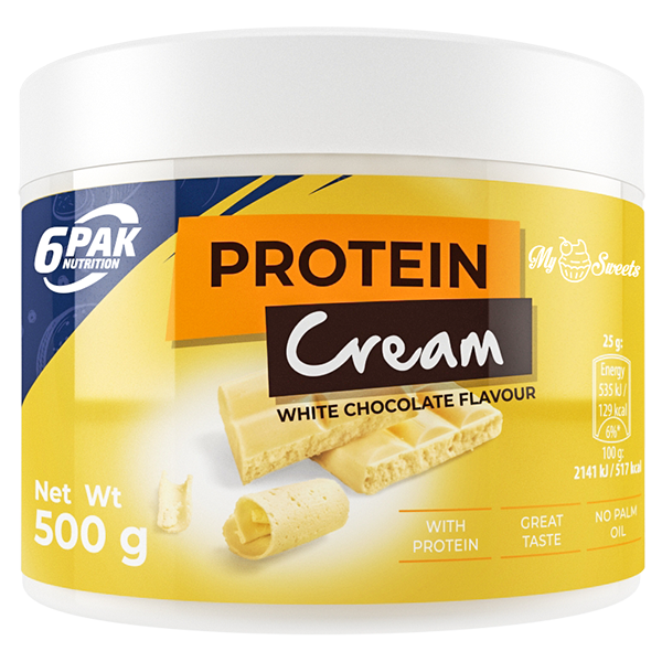 6PAK NUTRITION My Sweets Protein Cream White Chocolate