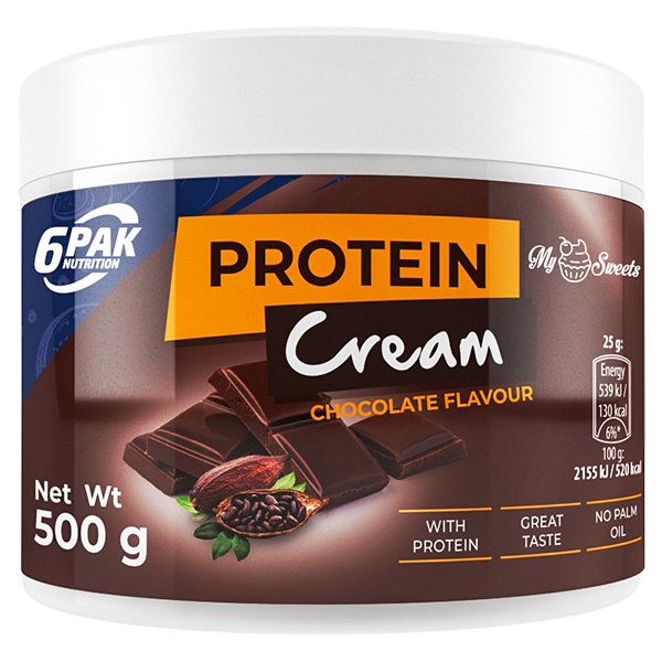 6PAK NUTRITION My Sweets Protein Cream Chocolate