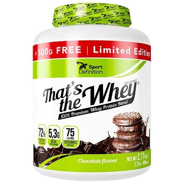 Sport Definition That′s The Whey 2270+500g Free