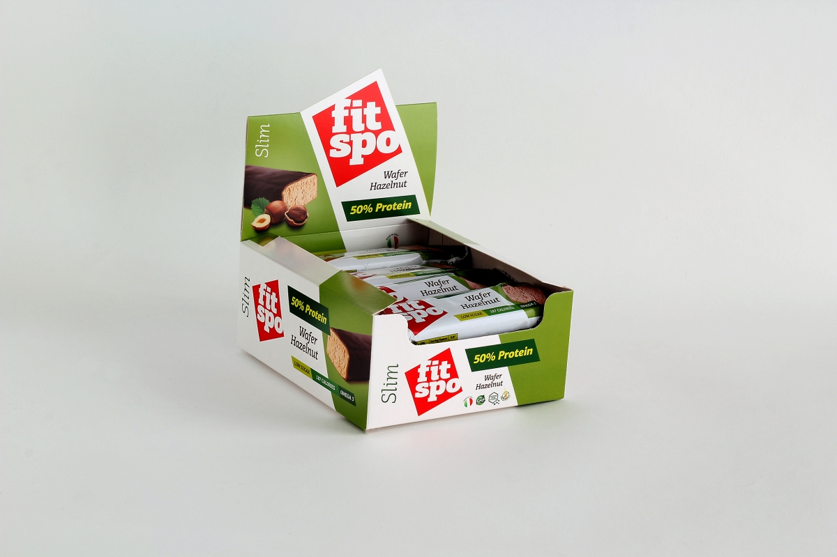 Fit Spo Slim Protein Bar Лешник