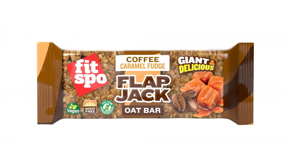 Fit Spo Flap Jack Energy Oat Bar Coffee Caramel