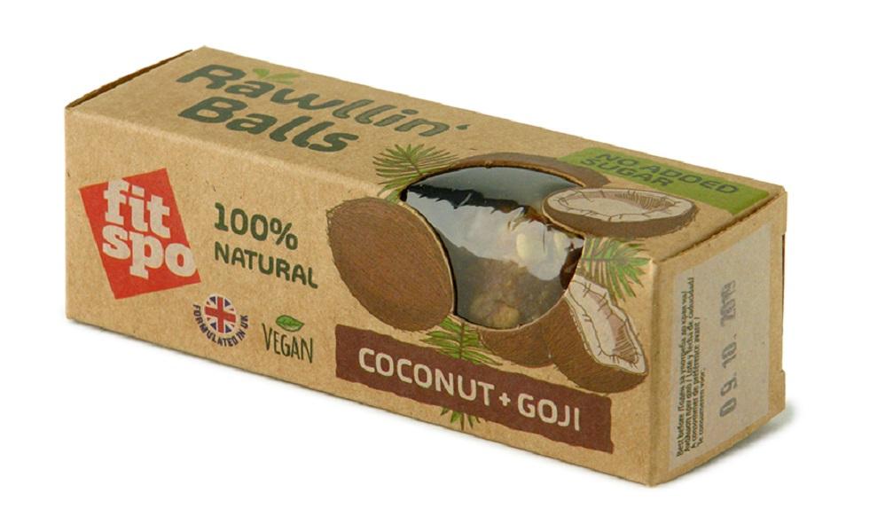 Rawllin` Balls Coconut + Goji