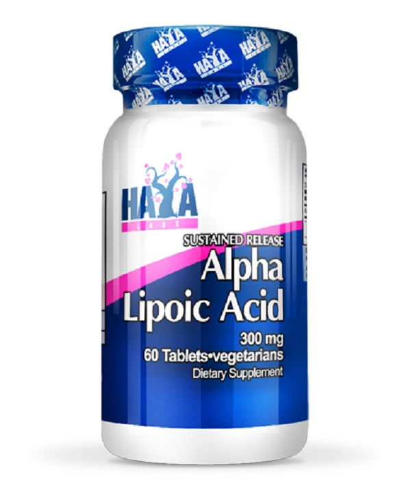 HAYA Labs Alpha Lipoic Acid 300mg /АЛА с постепенно освобождаване/