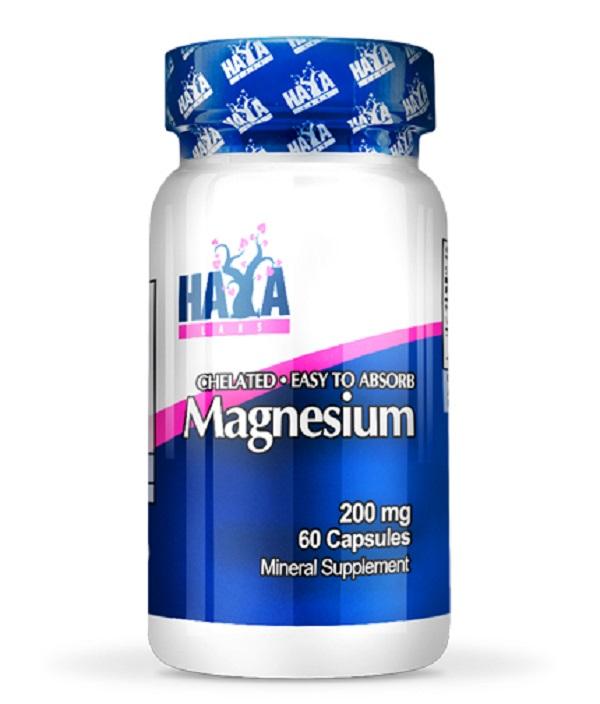 HAYA Labs Chelated Magnesium 200mg.