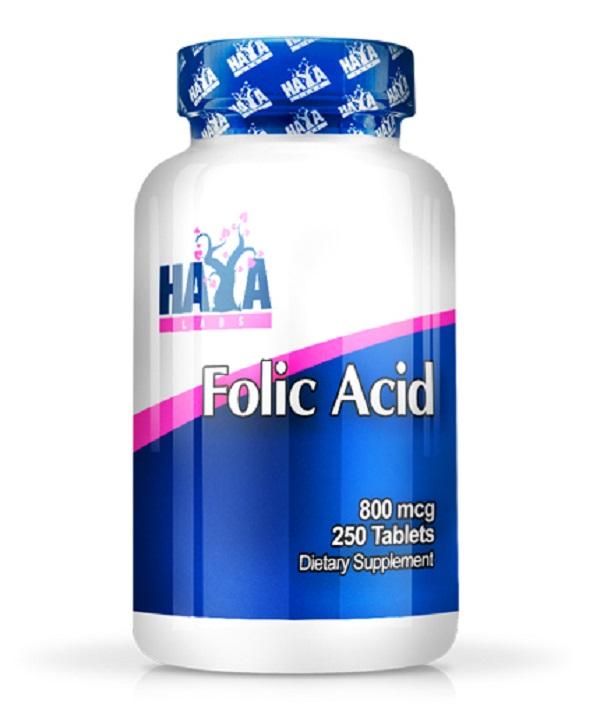 HAYA Labs Folic Acid 800mcg