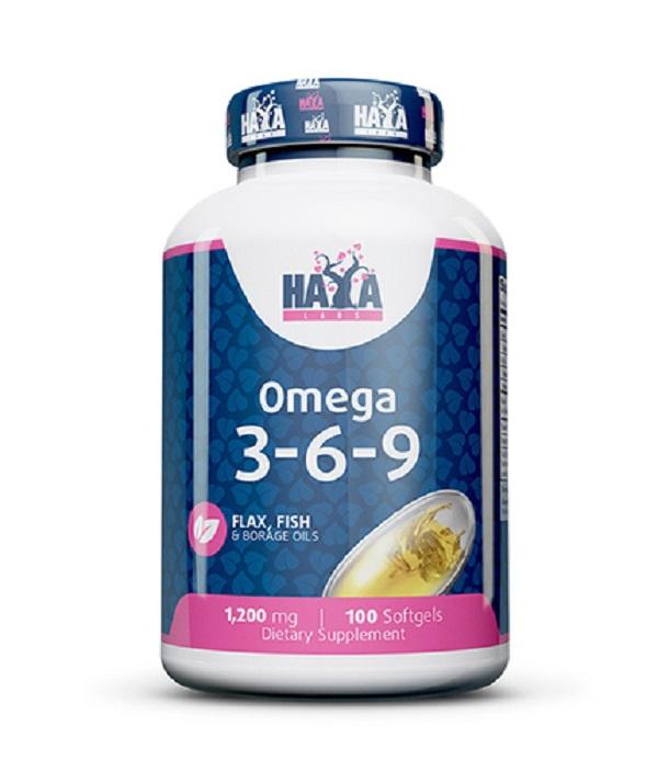 HAYA Labs Omega 3-6-9 100caps