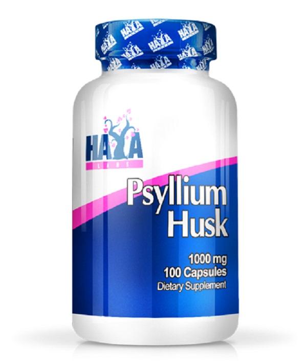 HAYA Labs Psyllium Husks 1000mg 100caps