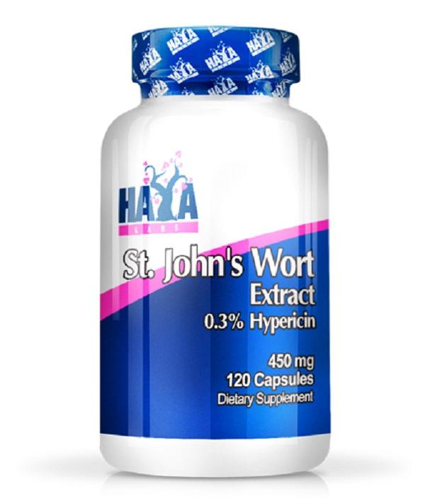 HAYA Labs St. John′s Wort 450mg