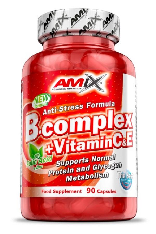 AMIX Vitamin B-complex + Vitamin C & E