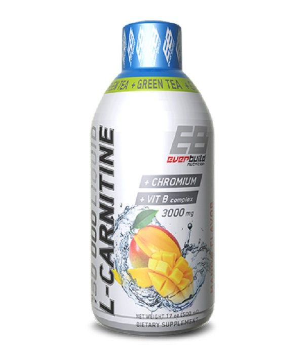 Liquid L-carnitine 3000mg + Green Tea
