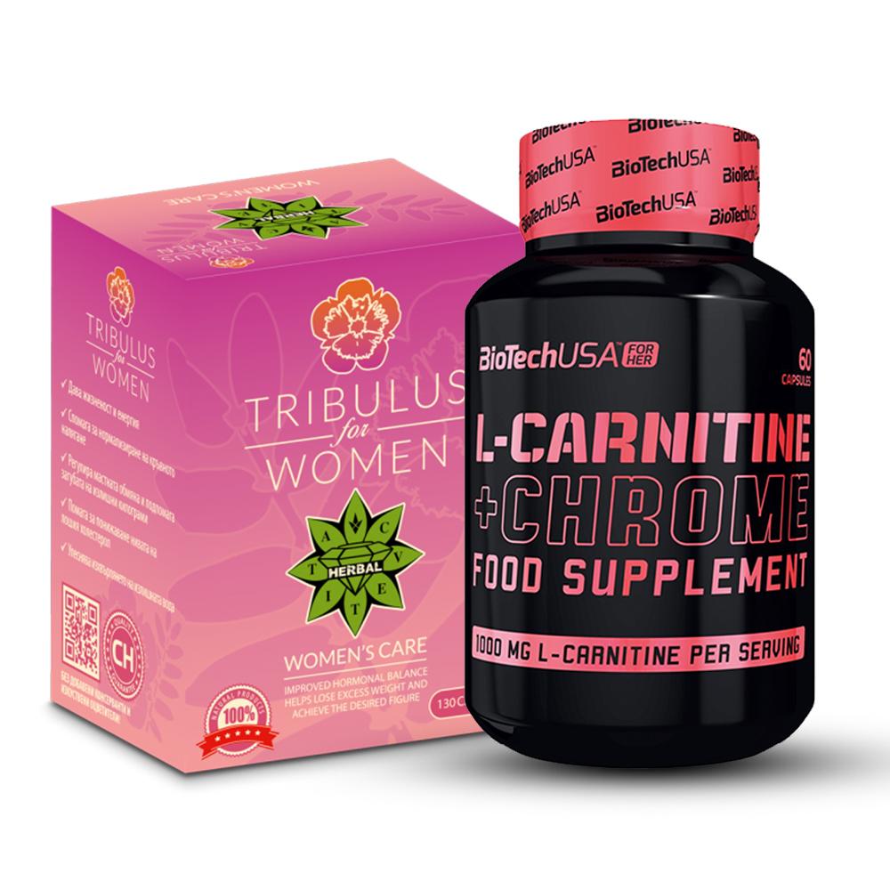 Woman Tribulus + L-carnitine + Chrome