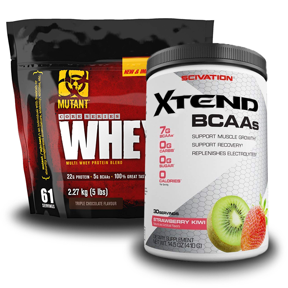 Whey 2270g + Scivation Xtend 30doses Free